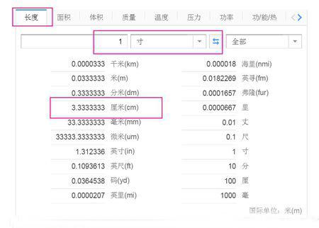 一寸等于多少厘米_一寸是多少厘米|毫米|公分|
