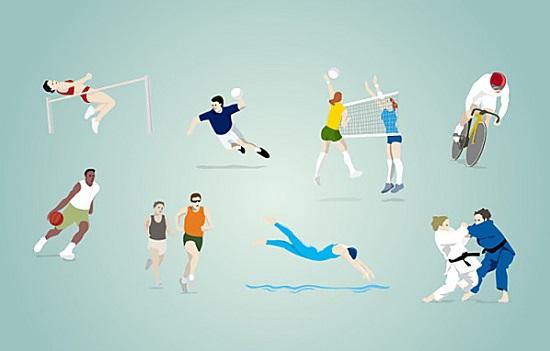 奥运会比赛项目 奥运会的项目有哪些 奥运会比赛项目图片 简笔画 你知